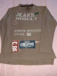 Vendo blusa de malha de frio usada/marca MARO CLOTHES N. 10 .