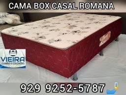 Cama box casal entrega em toda Manaus @