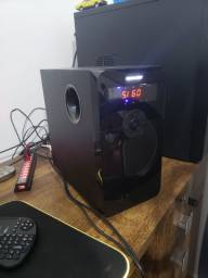 Home Theater Multilaser 5.1 Canais 80w Rms