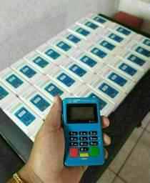 Máquina de cartão POINT MINI CHIP com entrega