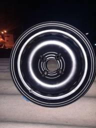 Roda da Chevrolet Onix aro 14