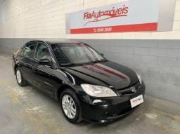 Honda Civic LX 1.7 Raridade 2005 Completo Automatico//Financio Sem Entrada //Aceito Troca