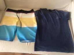 Combo de bluza e bermuda