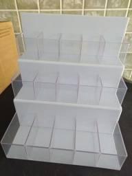 Expositor de balas 3 andares