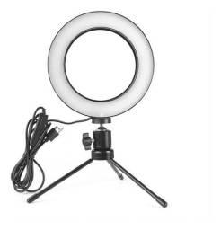 Ring light Iluminador com 3 tons de luz led