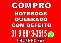 Com pro Notebook Com a Tela Quebrada!
