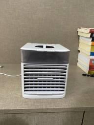 Mini Ar Condicionado Ventilador Original Usb Portatil
