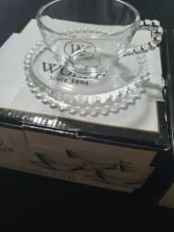 Vendo jogo de xicara de chá pearl wollf