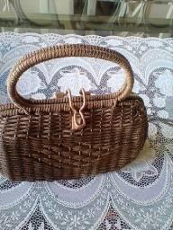 Bolsa de mão retro anos 60, uma graça nas festas tematica