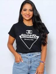 T-shirt Preta Chanel