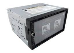 Central Multimidia DVD Player Bluetooth GPS Espelhamento
