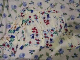 Camisa feminina de botões
