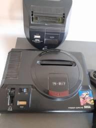 Megadrive 16-bit Versão BR Original com controle