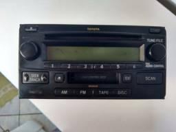 Rádio original Toyota Hilux 2008