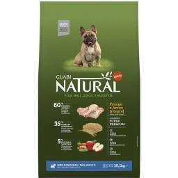 Ração Guabi Natural Frango e Arroz Integral para Cães Adultos Raças Mini e Pequena 10,kg