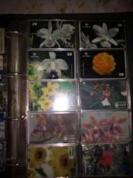 Coleção Preciosa de cartões 900 cartões telefônicos