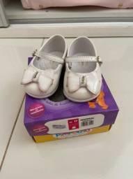 Sapato infantil tamanho 17