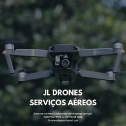 Fotos e filmagens aéreas