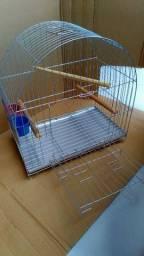 Gaiola pássaro calopsita