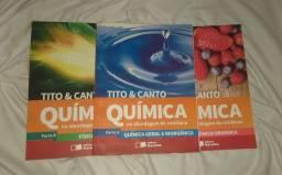 Química na abordagem do cotidiano Volume único - Tito&Canto