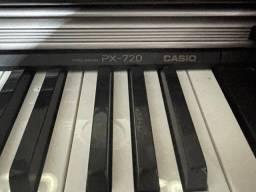 Piano elétrico Casio PX 720