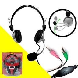 Fone De Ouvido Com Microfone Para PC ou Notebook Super Bass SY-301 - Souye<br>