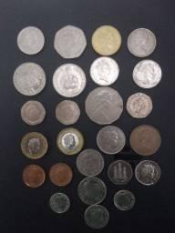 moedas antigas.