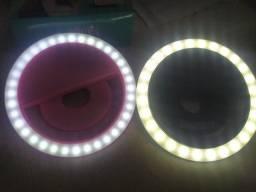 clipe anel luz pra selfie ring light