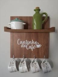 Enfeite para cozinha Cantinho do café