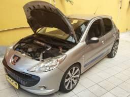 Peugeot 207 Turbo, Bancos em Couro,  Rodas aro 17