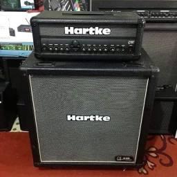 Cabeçote e Caixa 4x8 Hartke Guitarra