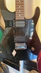 Guitarra Jackson mão invertida