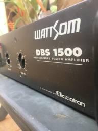 Amplificador De Potencia Wattsom Dbs1500