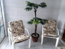 Conjunto de Terraço com 4 Cadeiras + Centro