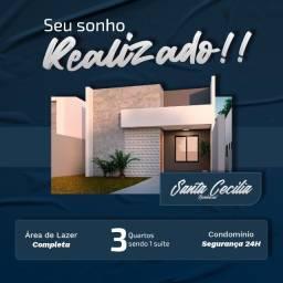 Sua casa pronta em até 6 meses - Santa Cecília Residence
