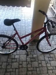 Bicicleta HOUSTON com cesta frontal