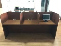 Vende-se mesa de coworking nova. 6 baias com tomada individual. R$ 1.000,00.