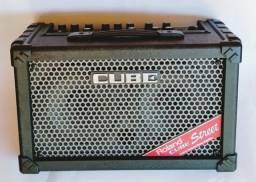 Amplificador Para Guitarra Roland Cube Street Ex, 50w, Fonte e Manual