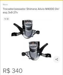 Passadores Shimano Alívio o par (novo)