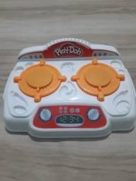 Fogão Plat-Doh - Criações no fogão hasbro