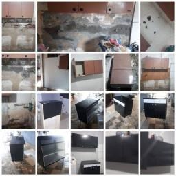Restaurações de móveis paredes etc...