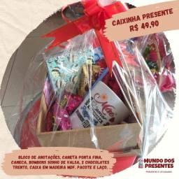 Presentes e cestas dia das maes