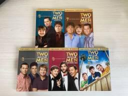 DVD Box Two and a Half Men: Dois Homens e Meio- 6ª a 10ª Temporada em 15 discos