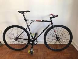 Bike fixa impecável full cromoly