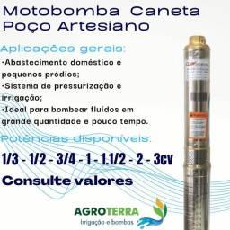 """Título do anúncio: Bomba Caneta 1/3cv 3"""" 127 ou 220v"""