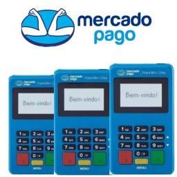 Máquinas de cartão Point Mini Chip Mercado Pago  Sem Mensalidade