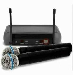 Kit Microfone Sem Fio Duplo ?