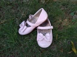 Sapato tamanho 22