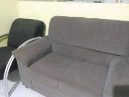 Oferta conjunto de sofá mais poutrona