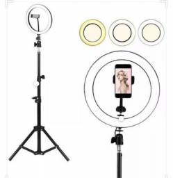Ring light 10 + tripe de 2.6 metros -